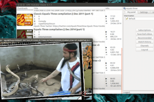 YouTube Viewer: um completo cliente YouTube para Linux
