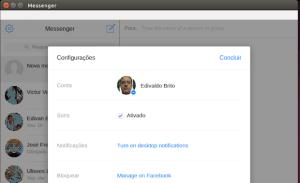 Facebook Messenger no Linux