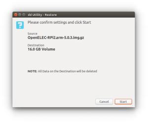 Faça backup e gravação de IMG ou ISO com dd Utility