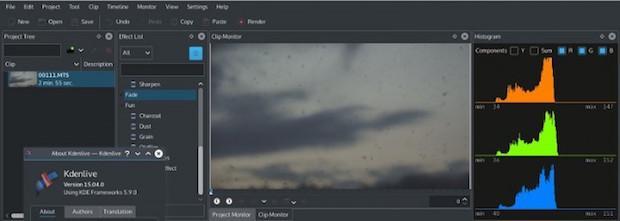 Instalando a versão mais recente do editor de vídeos Kdenlive no Ubuntu