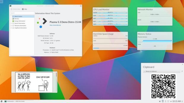 KDE Plasma 5.3.1 no Ubuntu 15.04