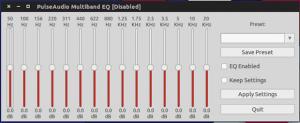 Como melhorar o áudio do PC com o Pulse Audio Equalizer