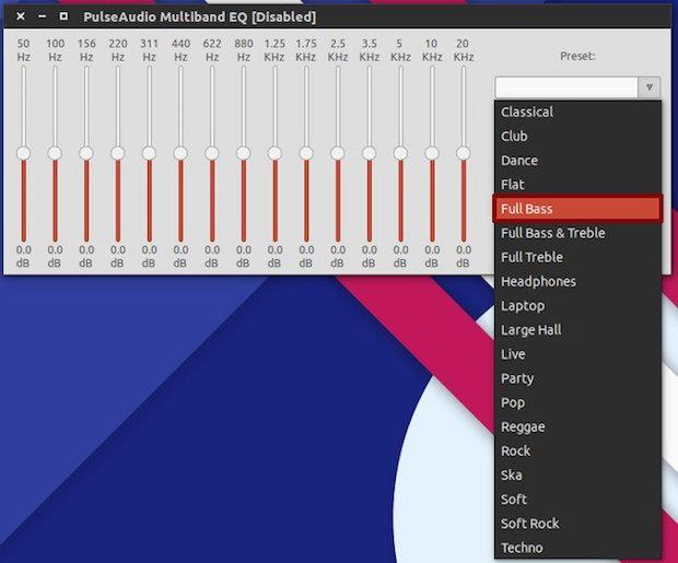 Como melhorar o áudio do PC com o Pulse Audio Equalizer