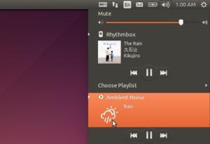 Como reproduzir sons relaxantes no Ubuntu com o ANoise