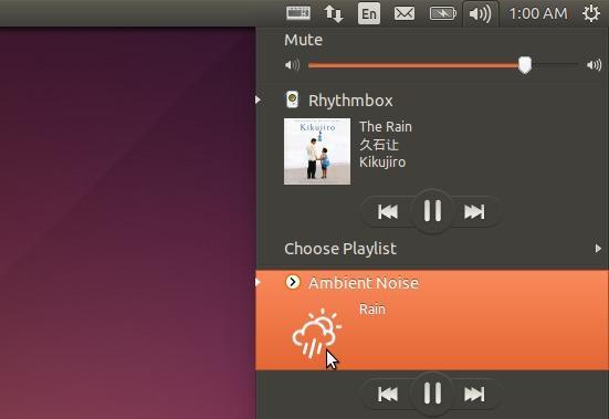 Como reproduzir sons relaxantes no Ubuntu