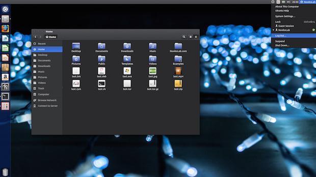 Instalando os temas Ceti e Vertex no Ubuntu