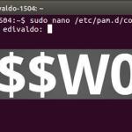 Como mudar o comprimento mínimo da senha no Ubuntu