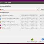 Backup e restauração de apps: Instale o Aptik
