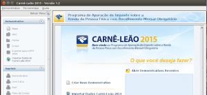 Como instalar o Carnê Leão no Linux manualmente (2015 até 2020)