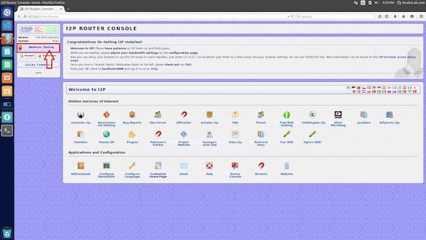 Navegação anônima e segura com I2P no Ubuntu e derivados