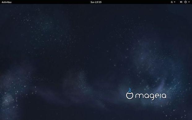 Mageia 5 - Gnome