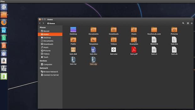 Instalando o conjunto de ícones Vivacious Colors no Ubuntu