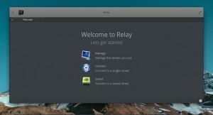 cliente de IRC Relay