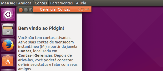 Como usar o chat do Facebook no Pidgin com o Purple Facebook