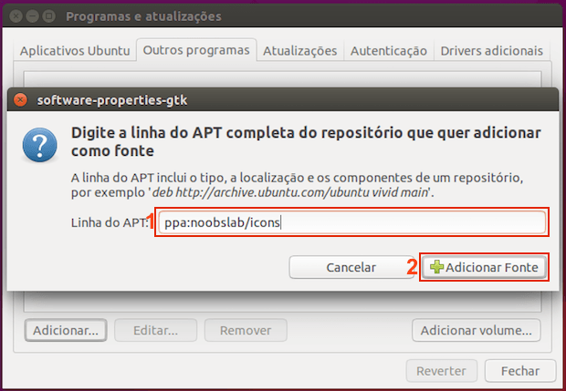 adicionar repositorio 5 - Como instalar o 4K Video Downloader no Linux