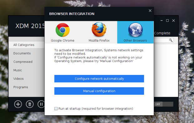 Como integrar o Xtreme Download Manager com o Firefox, Opera, Chrome e outros navegadores