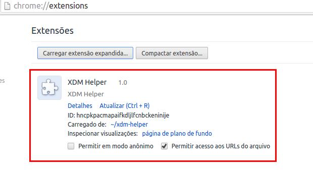 Integrar o Xtreme Download Manager com os navegadores