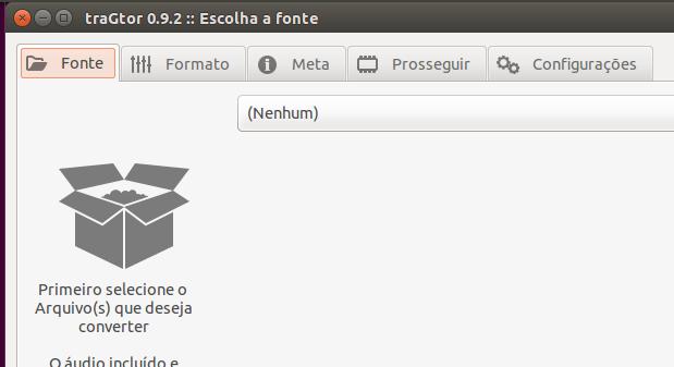 Interface gráfica para o ffmpeg? Conheça e instale traGtor
