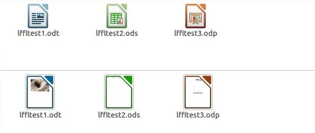 Como visualizar miniaturas de arquivos do LibreOffice e outros formatos no Ubuntu
