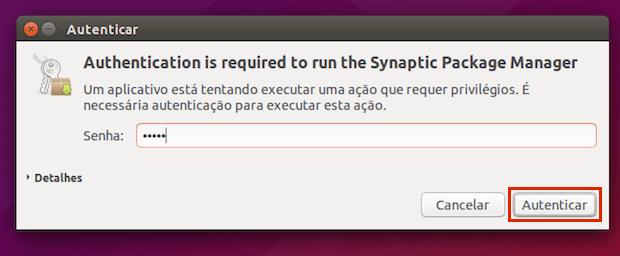 Como remover pacotes quebrados com o Synaptic
