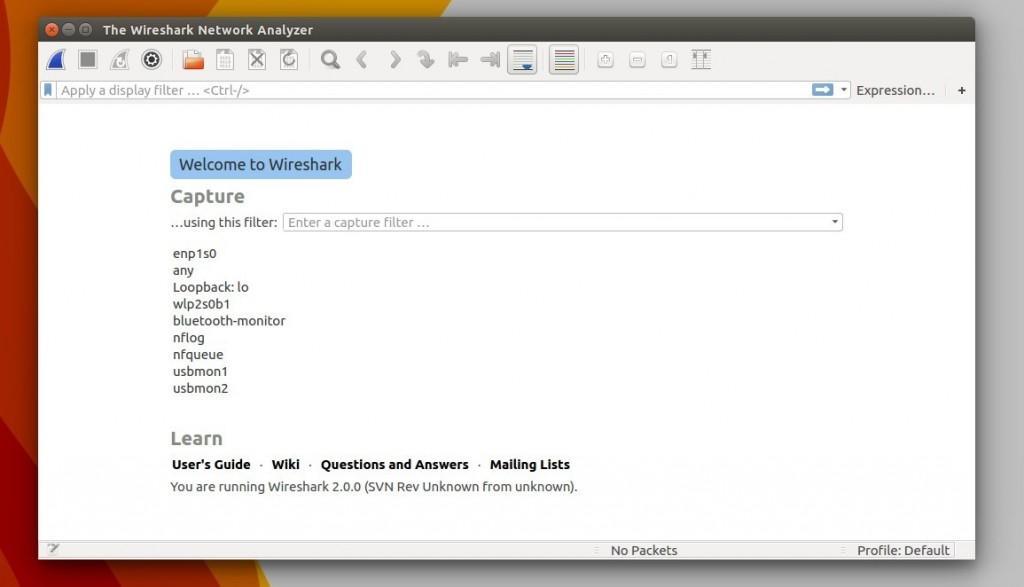 Como instalar o Wireshark no Ubuntu
