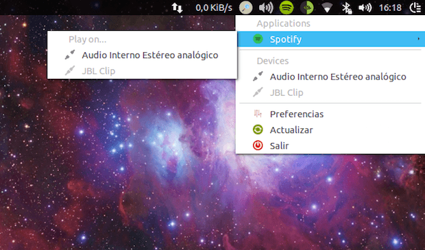 Use o PyAudioSelector para alternar entre dispositivos de áudio
