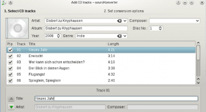 Como instalar o conversor de áudio SoundKonverter no Ubuntu e OpenSUSE