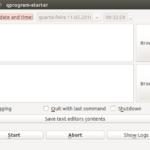 Como executar um programa em uma data e hora específica com qprogram-starter