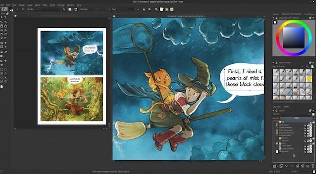 Como instalar o Krita Animation no Ubuntu