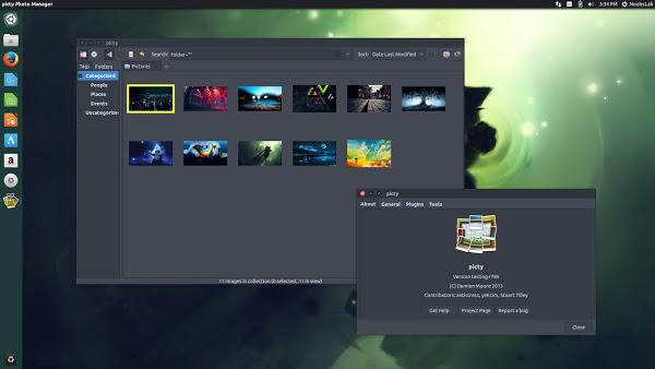 Gerenciar fotos no Linux - instale o Picty no Ubuntu e derivados