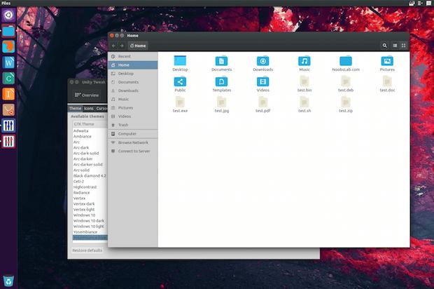 Como instalar o tema Yosembiance no Ubuntu