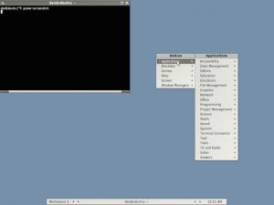 Não quero usar Unity, prefiro o BlackBox no Ubuntu