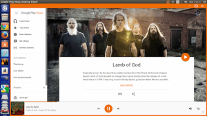Como instalar o Google Play Music Desktop no Linux