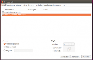 Como instalar uma impressora no Ubuntu