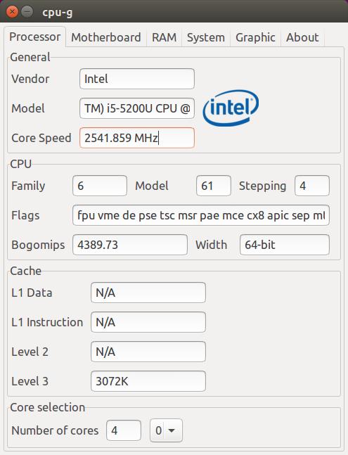 CPU-Z para Linux - instale CPU-G no Ubuntu e saiba mais sobre seu PC