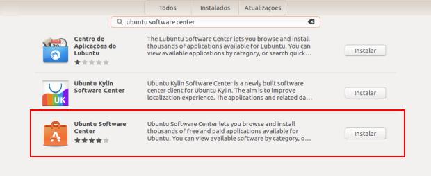 central programas - Não consegue instalar pacotes baixados? Veja como resolver no Ubuntu 16.04
