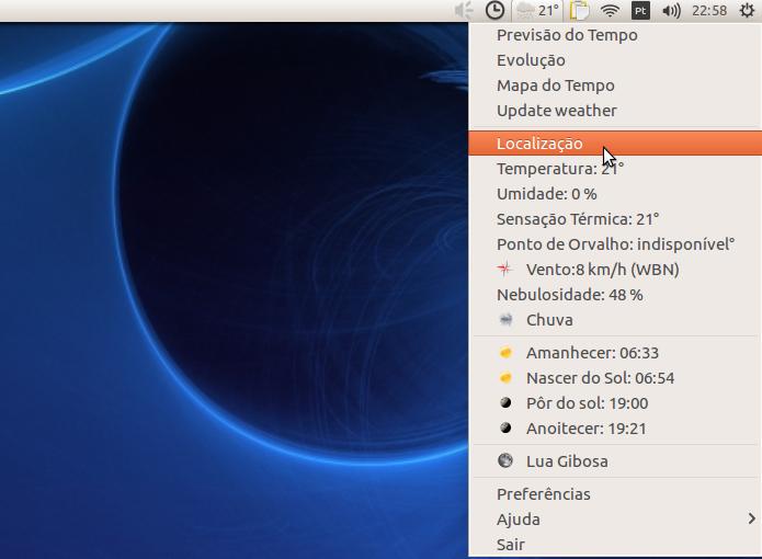 Previsão do tempo: Como instalar o My Weather Indicator no Ubuntu