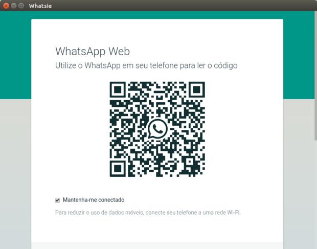Usando WhatsApp no Linux com Whatsie
