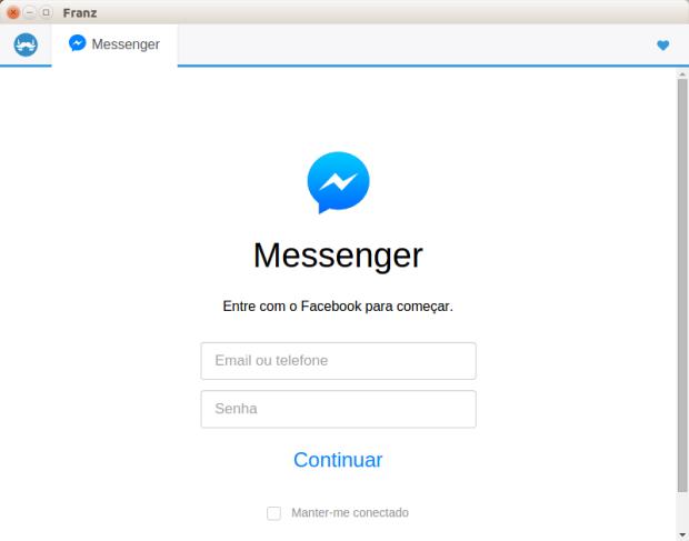 Franz - WhatsApp, Skype, Hangouts e outros mensageiros no mesmo app
