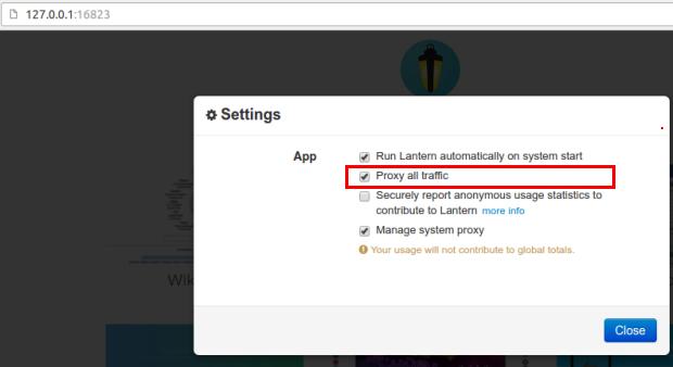 Como acessar sites bloqueados em regiões censuradas com o Lantern