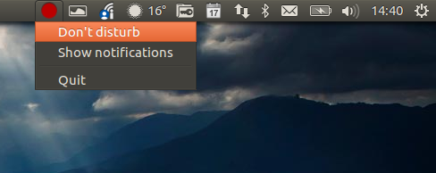 Como desativar as notificações no Ubuntu temporariamente