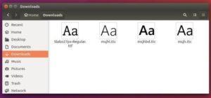 Como instalar fontes no Ubuntu 16.04 manualmente