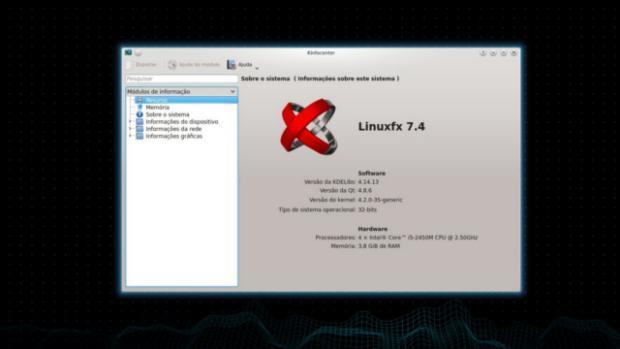 Linuxfx 7.4.2 já está disponível para download