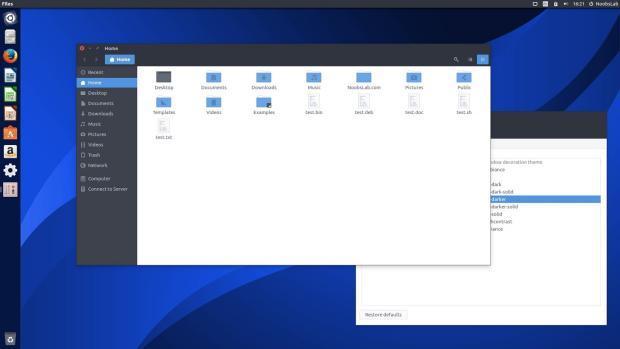Combinando o tema e os ícones Arc no Ubuntu