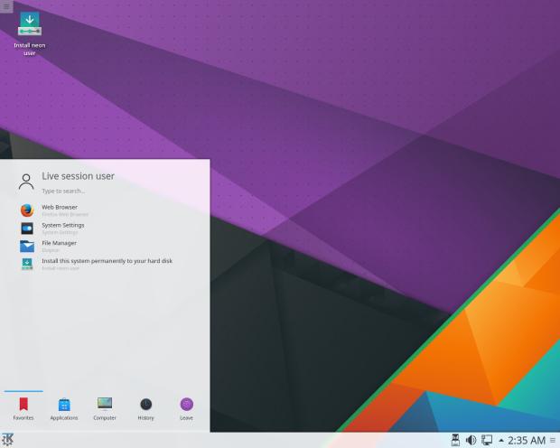 KDE Neon - o jeito fácil de experimentar a última versão do KDE Plasma