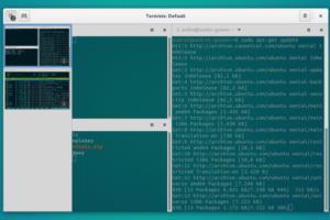 Como instalar o emulador de terminal Terminix no Ubuntu 16.04 e Linux Mint 18