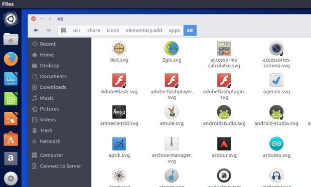 Como instalar os ícones do Elementary OS no Ubuntu