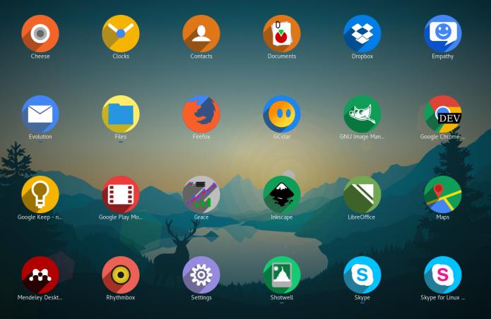 Instalando o conjunto de Ícones Shadow no Ubuntu
