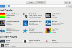 Quer ouvir rádios online no Linux? Use o Gradio