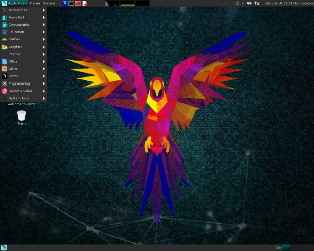 Parrot OS 3.8 lançado - Confira as novidades e baixe
